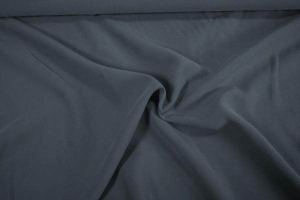 Viskose Webstoff Stone washed frisches taubenblau