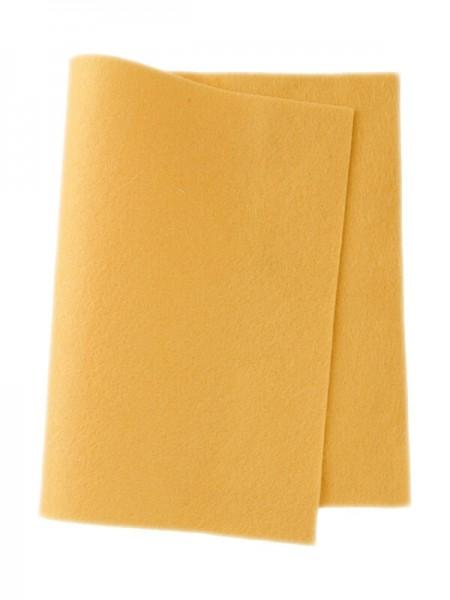 Wollfilz kükengelb • 100 % reine Wolle
