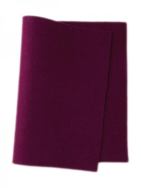 Wollfilz violett • 100 % reine Wolle