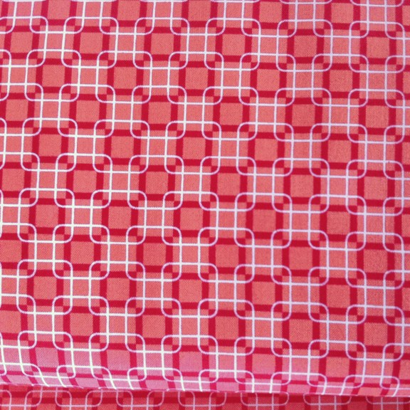 Exclusively Quilters • Rubies • rot Baumwollstoff