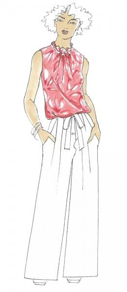 Bluse Karen • Damen • Papierschnittmuster