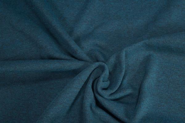 Bündchen glatt black yarn uni dunkelgrün