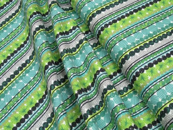 Blend Fabrics Cool Yule Dot Garland Green