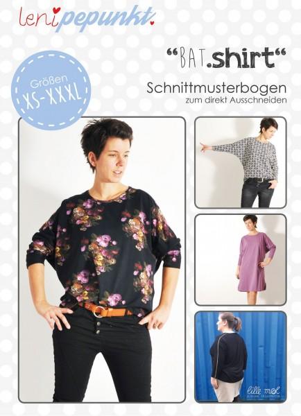 89 BAT.shirt,Papierschnitt,Leni Pepunkt,Deckblatt mit Beispielbildern von Frauen in Blusen und Kleid