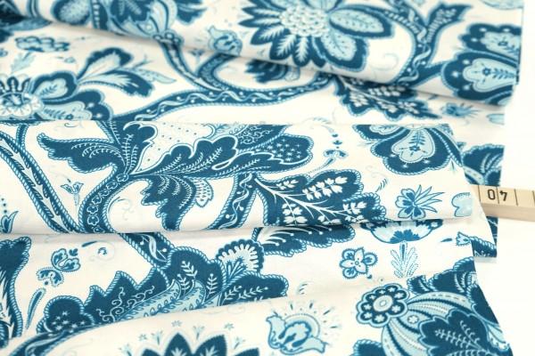 andover • Annabella • Main Floral • blue