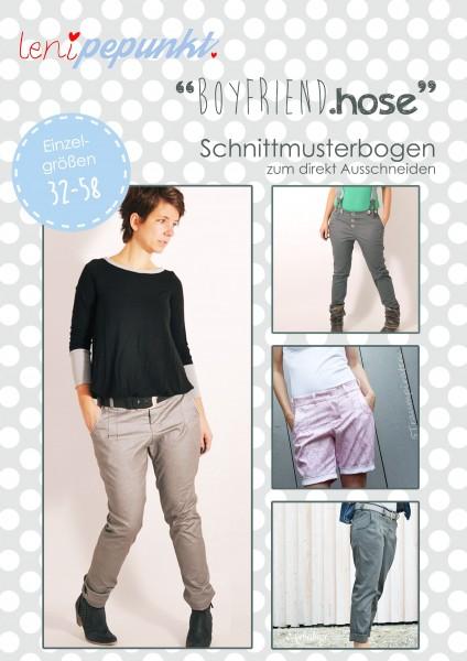 82 BOYFRIEND.hose,Papierschnitt,Leni Pepunkt,Deckblatt mit Beispielbildern von Frauen in langer und kurzer Hose