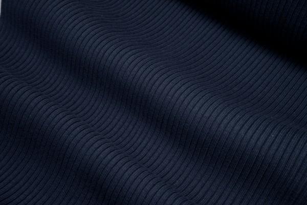 Grobstrickbündchen/Heavy Rib dunkelblau