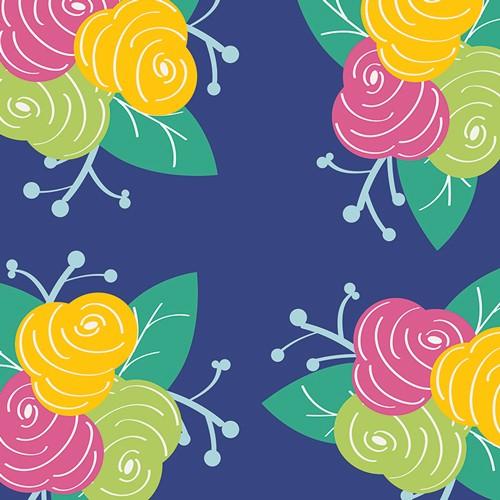 Art Gallery • Gleeful • Preppy Fleurs • Baumwollstoff