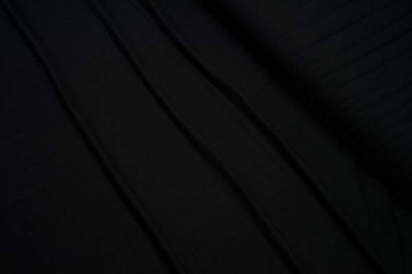 Viskose Jersey uni schwarz