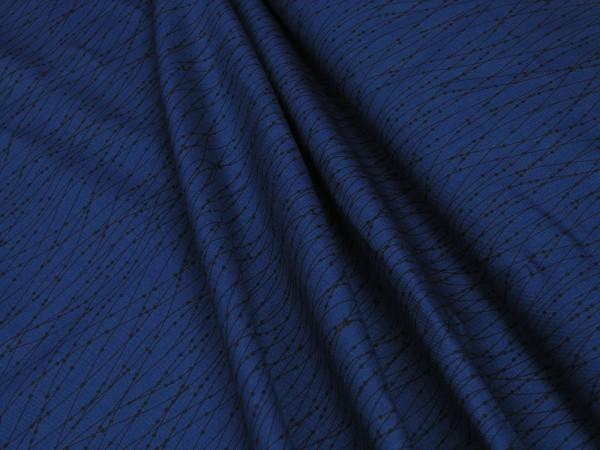 P&B Essentials 3 Contour Dot Navy ESS3-666N Baumwollstoff