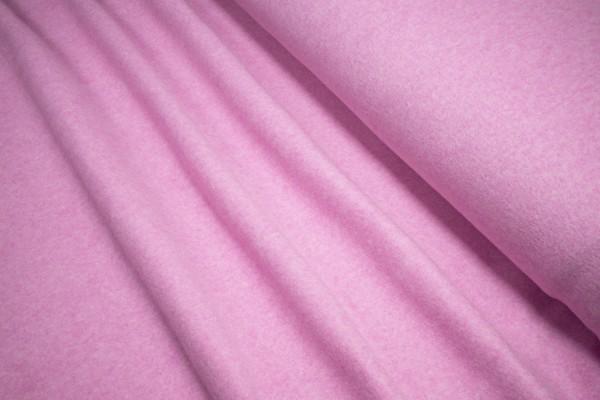 BIO Baumwoll Fleece Stoffonkel Barbados rosa
