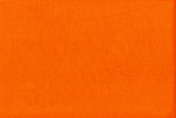 orange • uni Baumwollstoff