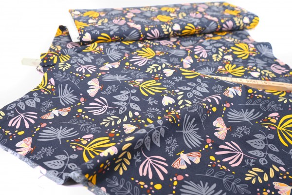 Windham Fabrics • Aerial • Navy • 52182-13 • by Tamara Kate