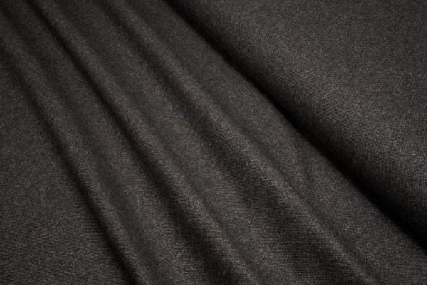 Tweed Massimo Salz und Pfeffer dunkelbraun made in Italy