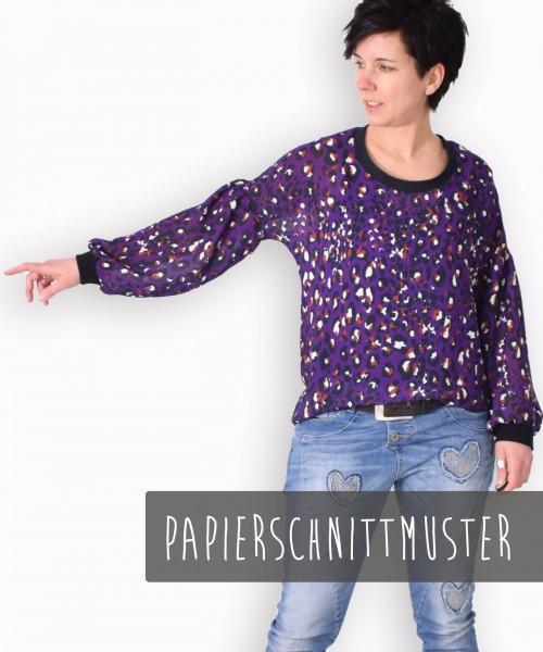 127 ORA.shirt,Papierschnitt,Leni Pepunkt,Deckblatt mit Frau in Pullover