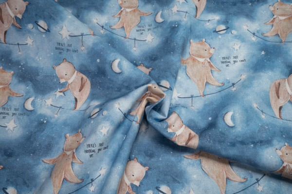 3 Wishes Aventure in the Sky 14654 blue by Bianca Pozzi