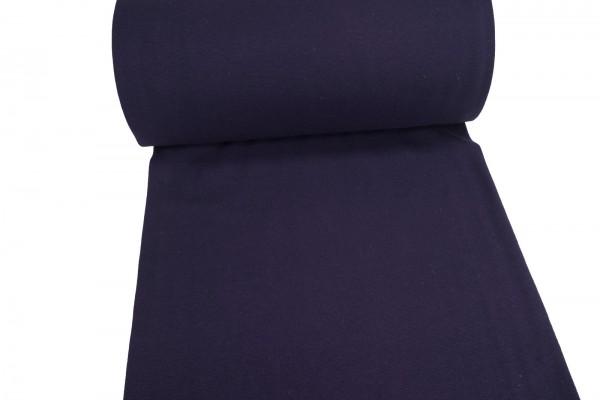 Bündchen glatt uni violett