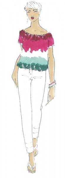 Bluse Emma • Damen • Papierschnittmuster