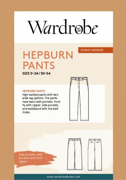Hepburn Pants, Papierschnitt,Wardrobe by me,Deckblatt