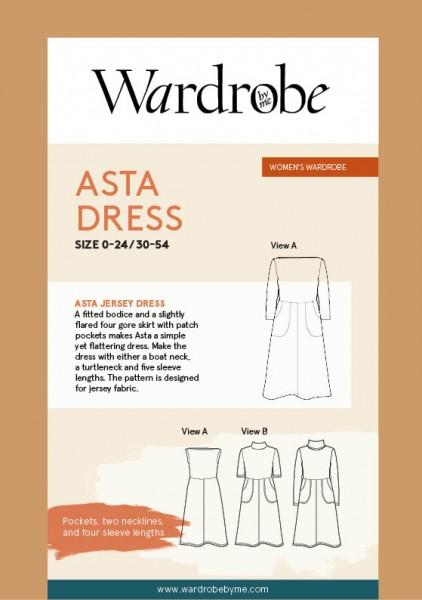 Asta Jersey Dress, Papierschnitt,Wardrobe by me,Deckblatt