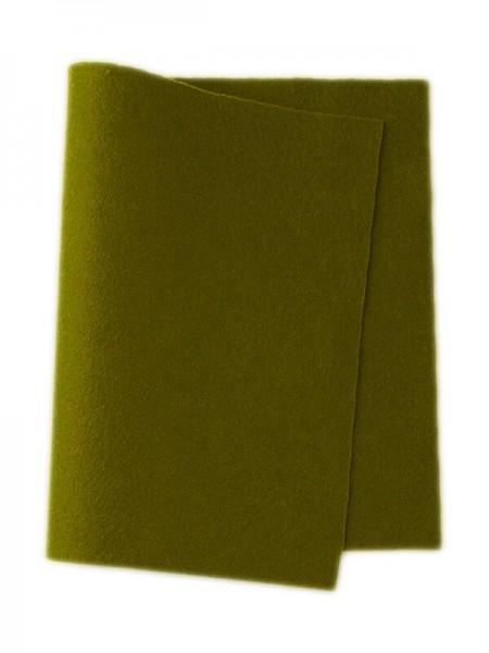 Wollfilz blattgrün • 100 % reine Wolle