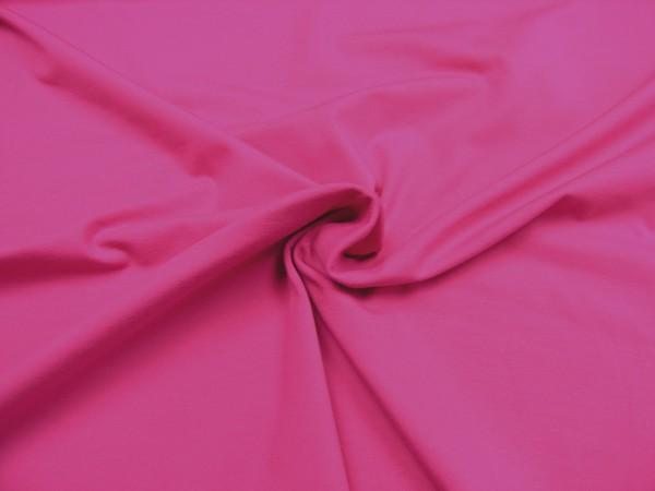 Baumwoll Jersey uni pink