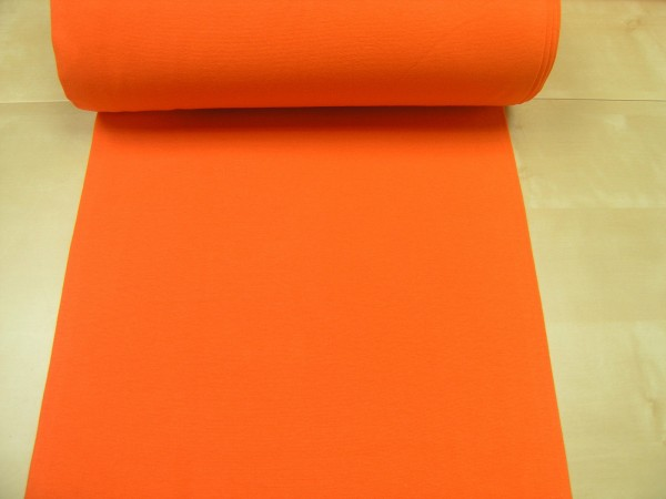 Bündchen glatt uni orange