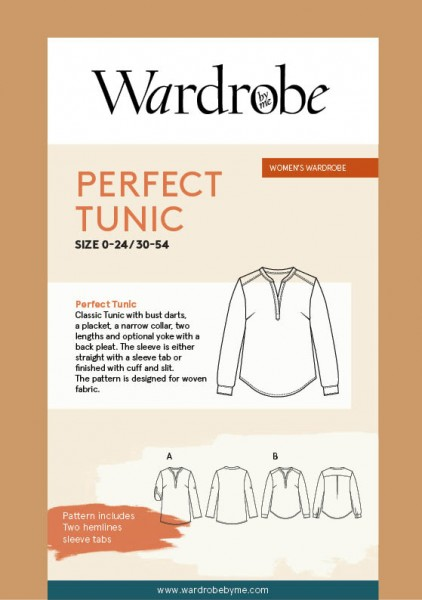 Perfect Tunic,Papierschnitt,Wardrobe by me,Deckblatt