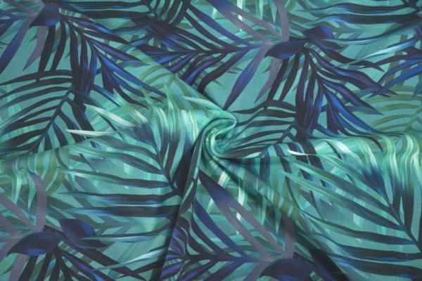 Jersey Stenzo Blätter grün blau