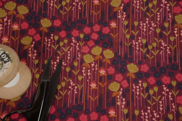 Cotton and Steel Emilia Matilda Rose Fabric by Megan Carter