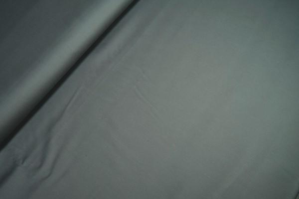 Baumwoll-Satin leicht elastisch grau