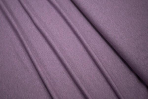 Jersey Black Yarn aubergine Baumwoll Jersey meliert