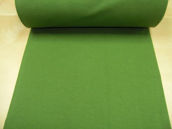 Bündchen glatt uni grün