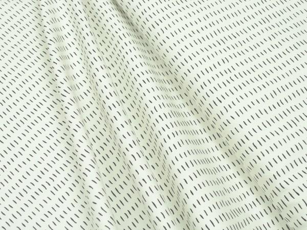 Moda Fabrics Thicket 48203 12 Dashes Natural Black Baumwoll Stoff
