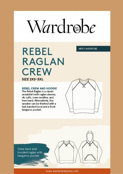 Rebel Raglan Crew Sweatshirt,Papierschnitt,Wardrobe by me,Deckblatt