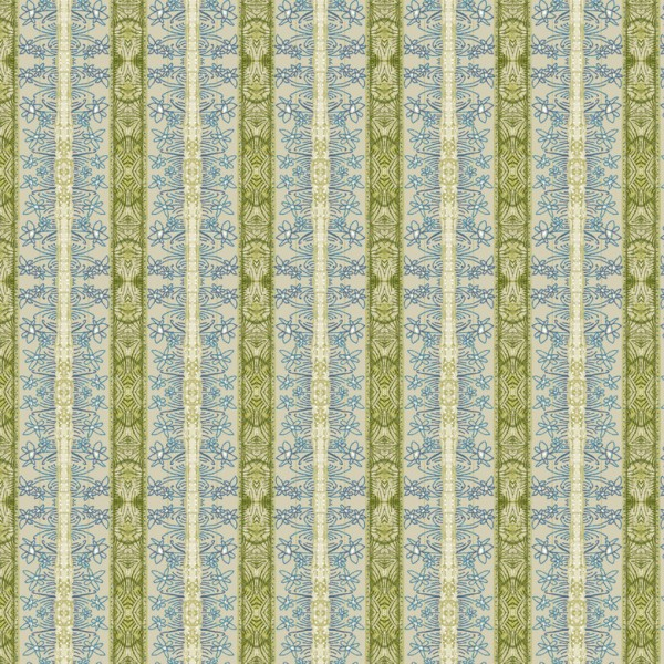 Blend Fabrics • The Sweet Life • Field of Joy Blue Baumwollstoff