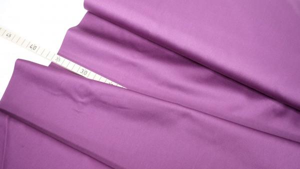 Baumwollsatin • querelastisch • lila