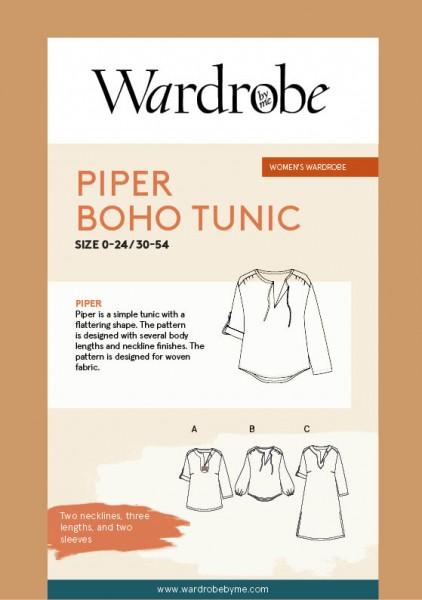 Piper Boho Tunic,Papierschnitt,Wardrobe by me,Deckblatt