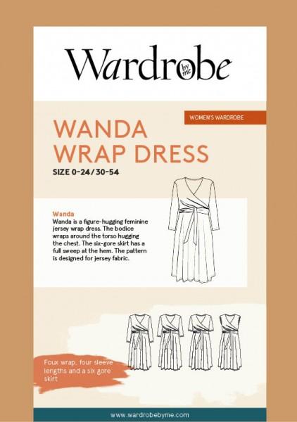 Wanda Wrap Dress, Papierschnitt,Wardrobe by me,Deckblatt