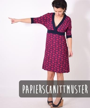 110 LINDO.kleid,Papierschnitt,Leni Pepunkt,Deckblatt mit Frau in Kleid