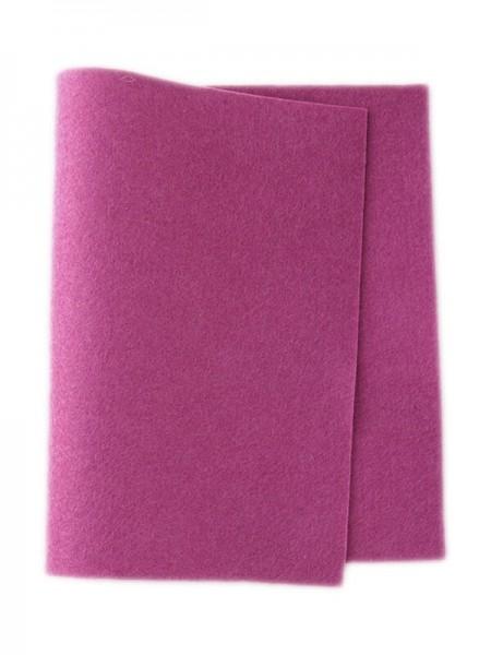Wollfilz magenta • 100 % reine Wolle