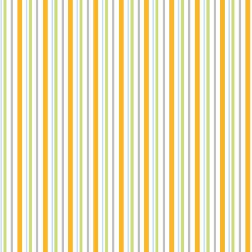 Adlico • Furry Friends • stripes • Baumwollstoff