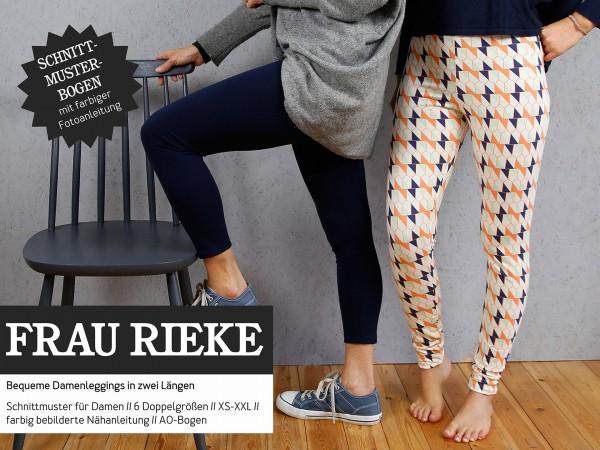 FRAU RIEKE • Leggings, Papierschnitt, Deckblatt