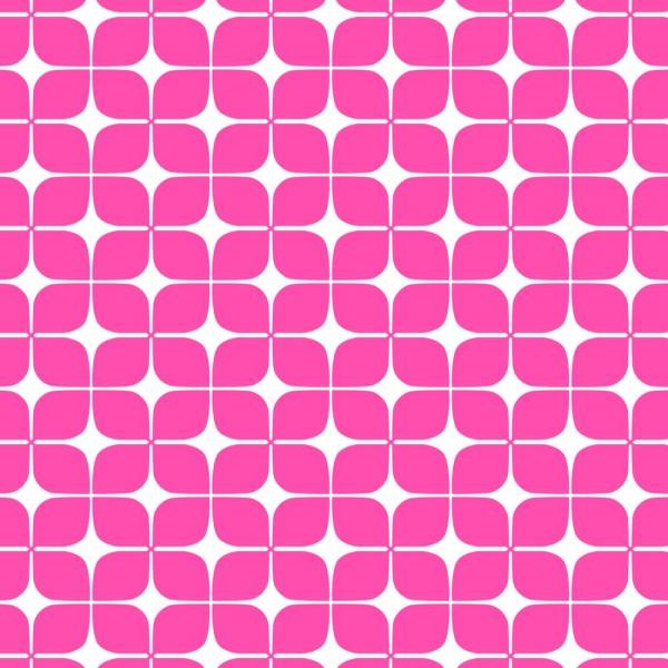 Camelot • Neon & On • Pink Lozenges • Baumwollstoff