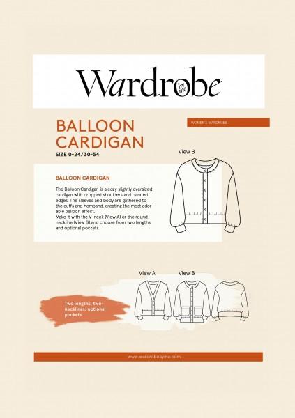 Balloon Cardigan,Papierschnitt,Wardrobe by me,Deckblatt