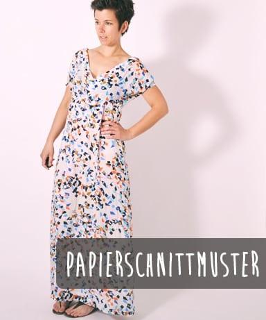 78 BREEZY.kleid,Papierschnitt,Leni Pepunkt,Deckblatt mit Frau in Kleid