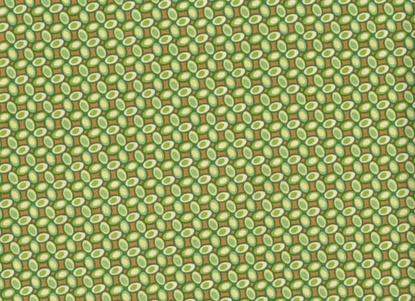 Heather Bailey • FRESHCUT Jelly Bean • grün • Baumwollstoff
