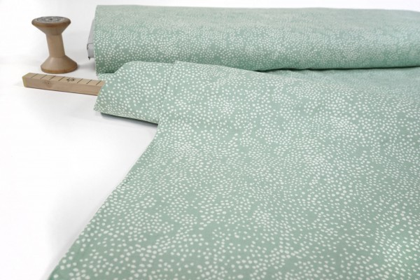 Cotton and Steel Rifle Paper Co. Menagerie Champagne Mint Fabric