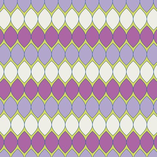 Art Gallery • Dreamin vintage • Mod pop lavender Baumwollstoff