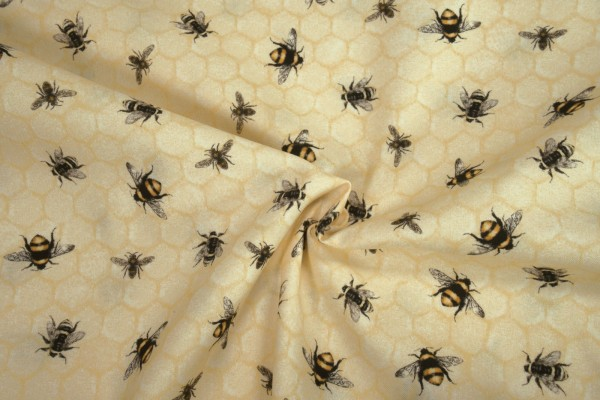 Robert Kaufman Everyday Favorites Honey 18967 by Mary Lake Thompson Ltd.